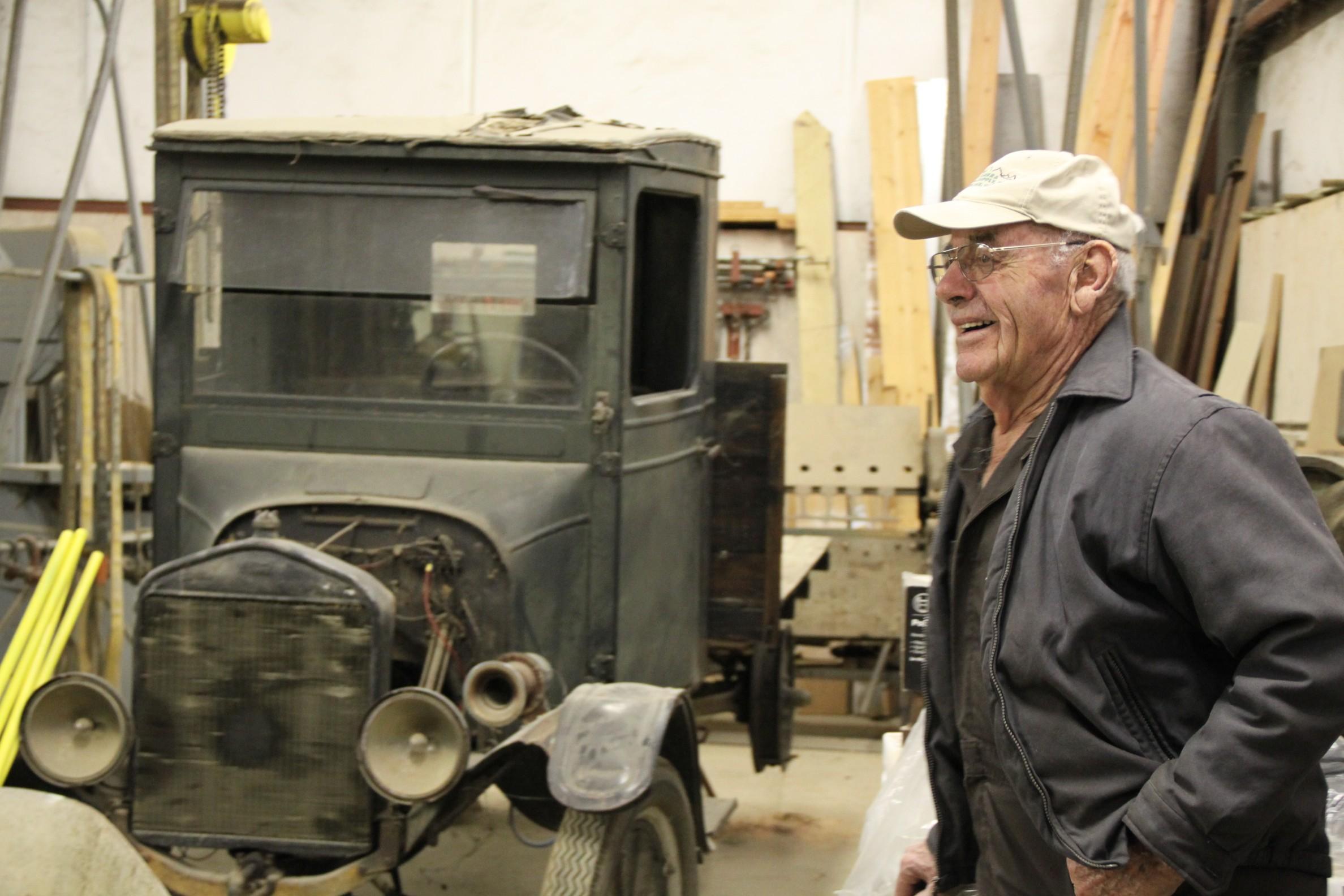Roger Miller & Model T Pickup